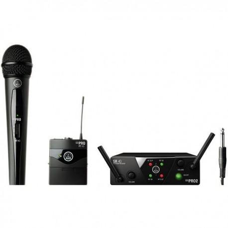 AKG WMS-40 MINI DUAL VOCAL INSTR SET