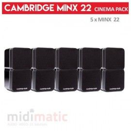 Cambridge Minx 22 - CINEMA PACK (Negro)