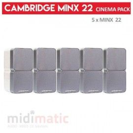Cambridge Minx 22 - CINEMA PACK (Blanco)