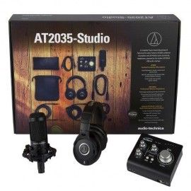 Audio-Technica AT-2035 Studio Pack