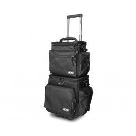 Ultimate SlingBag Trolley Set DeLuxe Black, Orange inside