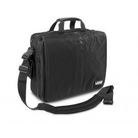 """Ultimate CourierBag DeLuxe 17"""" Negra, Naranja forro interior"""