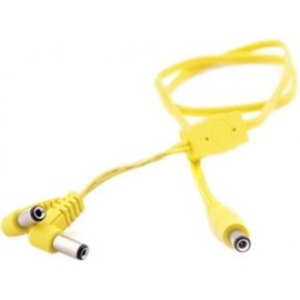 YELOW DOUBLER CABLE, 55 CM