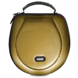 U8202GD - CREATOR HEADPHONE HARDCASE LARGE PU GOLD