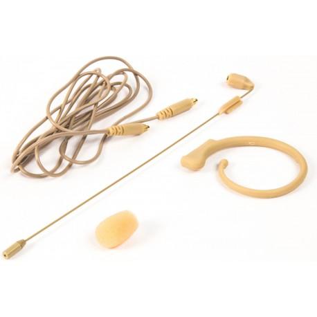 Micrófono de condensador para cabeza (headset).