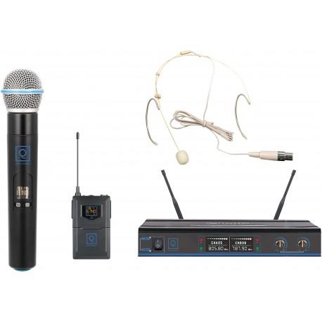 QWM-3 Combo (Handheld +Earset) 470-494Mhz FR