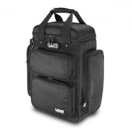 U9023BL/OR - ULTIMATE PRODUCERBAG SMALL BLACK/ORANGE INSIDE